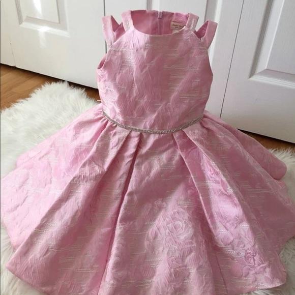 9dfaa3c94d2 David Charles girls pink dress size 5t